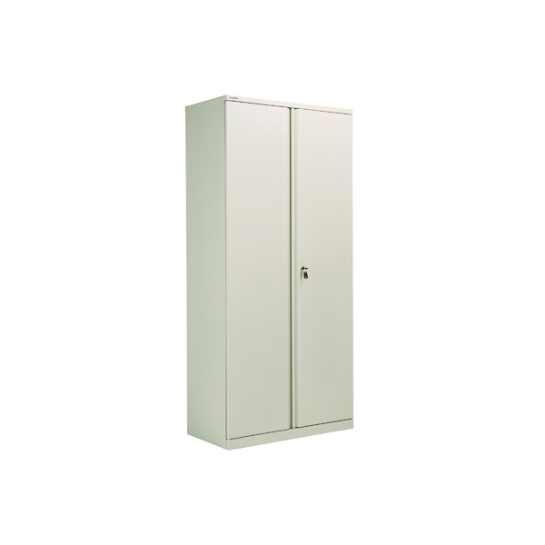 Cupboards H over 1200mm Bisley 2 Door 1970mm Cupboard Empty Goose Grey KF78715