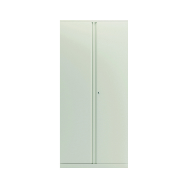 Cupboards H over 1200mm Bisley 2 Door 1970mm Cupboard Empty Chalk White KF78716