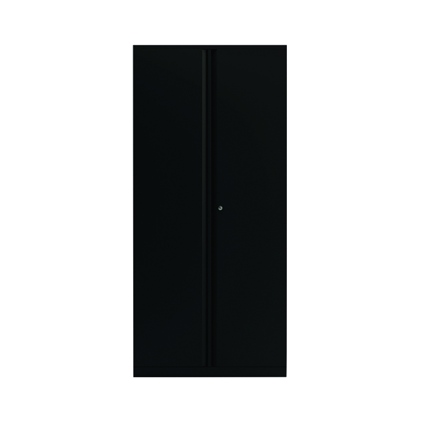 Cupboards H over 1200mm Bisley 2 Door 1970mm Cupboard Empty Black KF78717