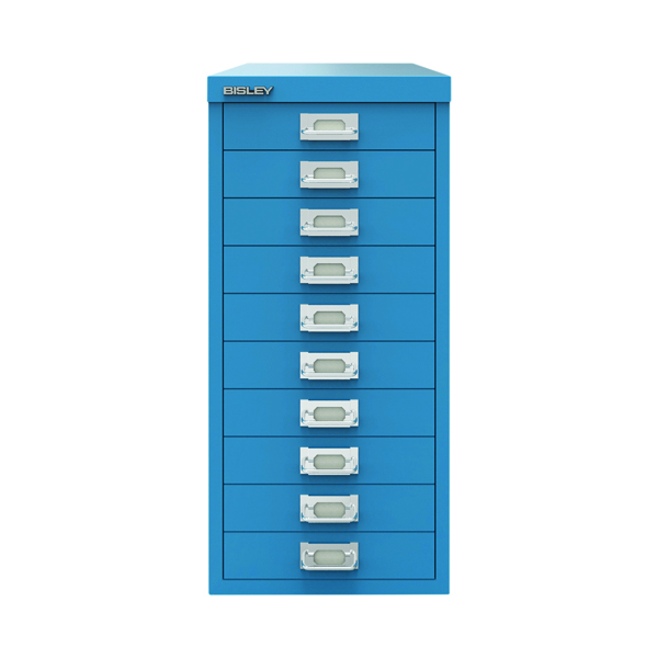 Other Bisley 10 Drawer Cabinet Azure Blue BY78740