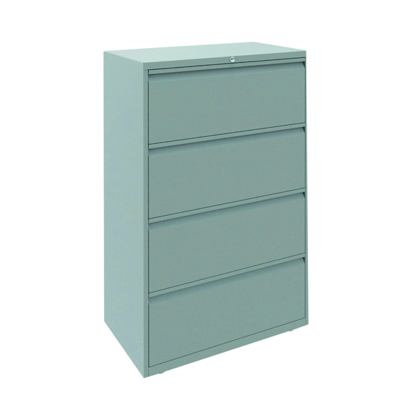 Four Drawer Bisley 4 Drawer Unit Goose Grey ESSF4D/GG