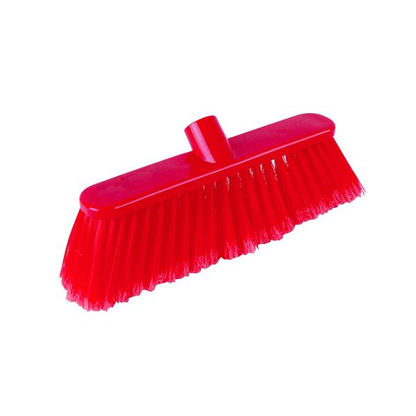 Mop/Broom/Brush Soft Broom Head 30cm Red P04048