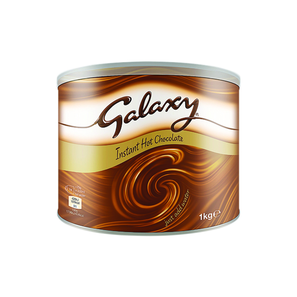 Hot Chocolate Galaxy Instant Hot Chocolate Tin 1kg A01950