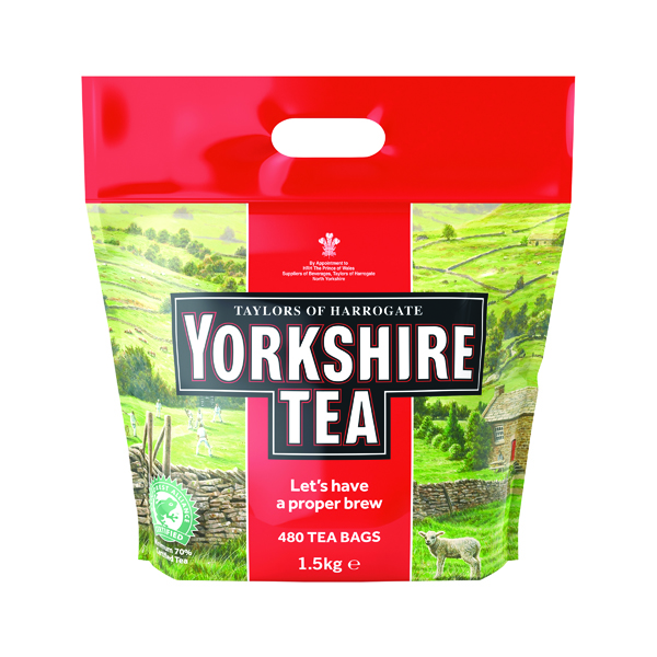 Tea Yorkshire Tea Soft Water Tea Bags (480 Pack) 1127