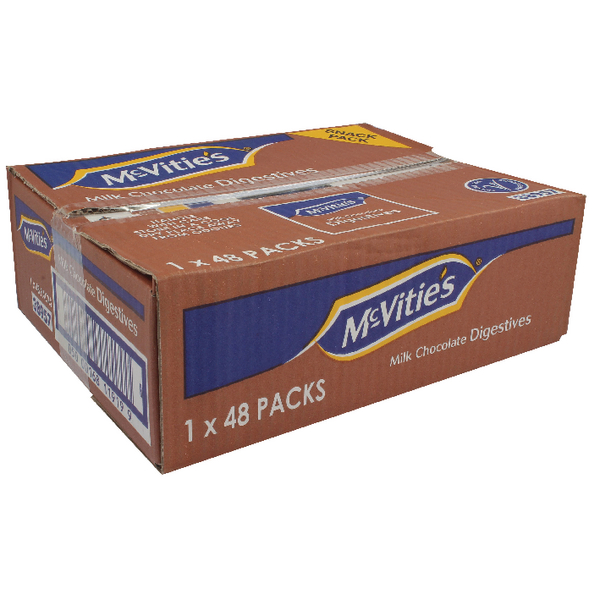 McVities Chocolate Digestive Biscuits Twin Pack (48 Pack) 38957
