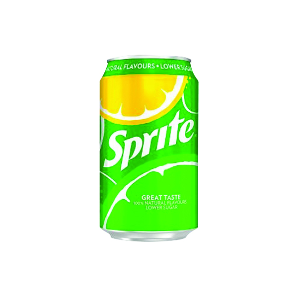 Cold Drinks Sprite Lemon Lime Canned Drink 330ml Pack 24 0402008