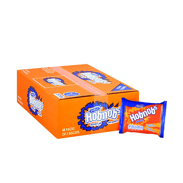 Biscuits McVities Hobnobs Biscuits Twin Pack (48 Pack) 39706