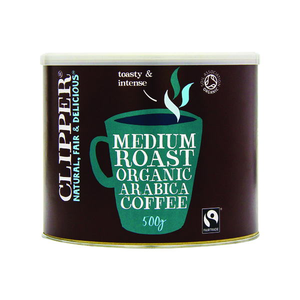 Coffee Clipper Organic Medium Roast Instant Coffee 500g A06762