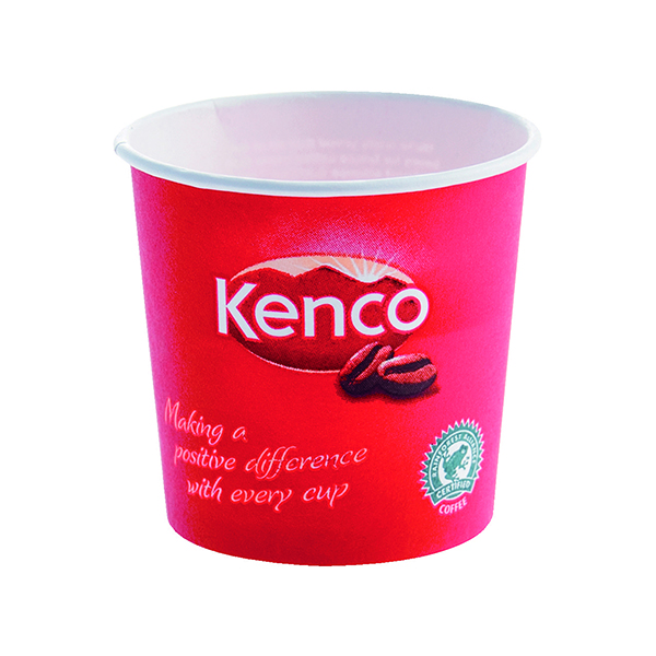 Cups/Mugs/Glasses Kenco 7oz Singles Paper Cups Red (800 Pack) B01794