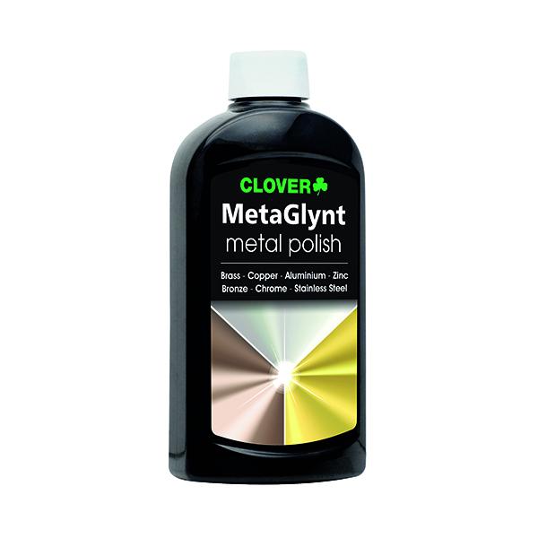 Kitchen/Washroom Cleaning Clover MetaGlynt Metal Polish 300ml 708SFQ