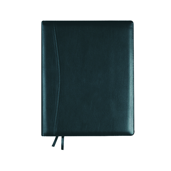 Day a Page Collins Elite Diary Day Per Page Compact Black 2021 1140V