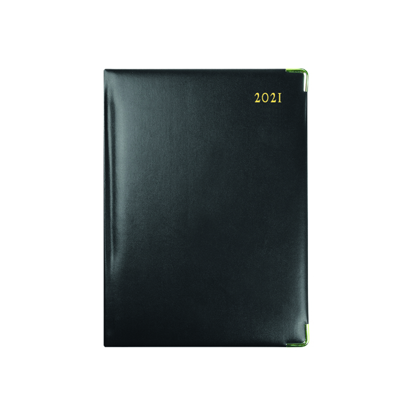 Day a Page Collins Classic Diary Day Per Page Appointment Manager 2021 1200V