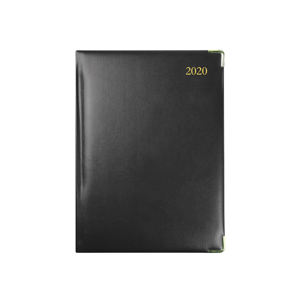 Week to View Collins Classic Diary Manager Week to View Appointment 2020 Black 1210V