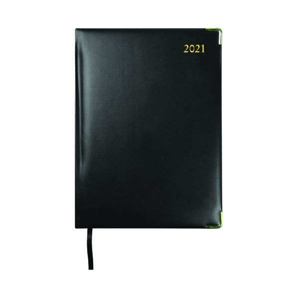 Week to View Collins Manager Diary Week To View Appointment Black 2022 1210V