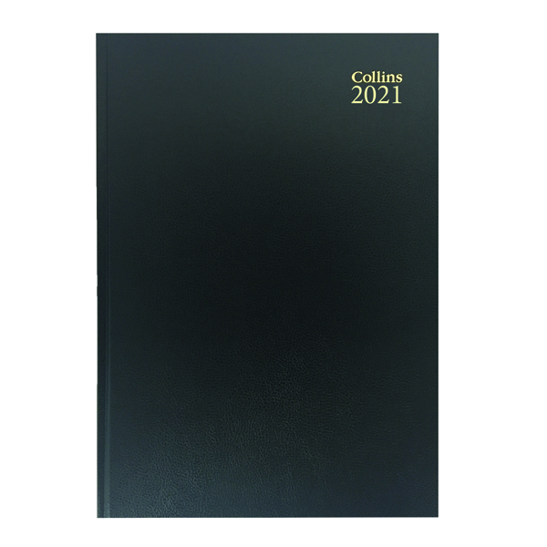 Week to View Collins Desk Diary Week to View A5 Black 2021 35