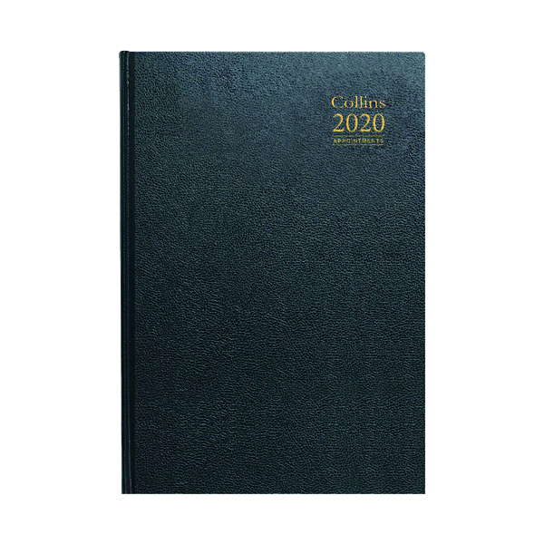 Academic Collins Academic Diary Day Per Page Appt A4 Assorted 2020-21 44M