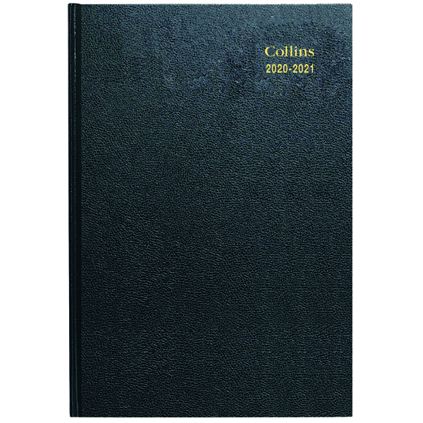 Academic Collins Academic Diary Day Per Page Appt A5 Assorted 2020-21 52M