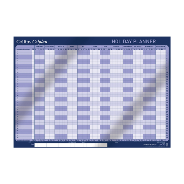 Unspecified Collins Holiday Planner 2020 CWC10