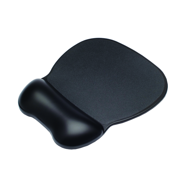 Contour Ergonomics Soft Skin Gel Mouse Mat Black CE77000