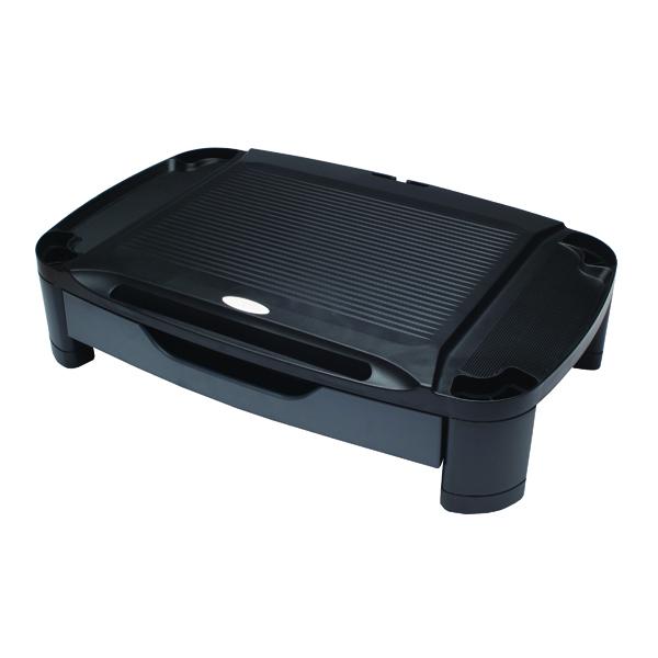 Risers Contour Ergonomics Professional Monitor Stand Black CE77686
