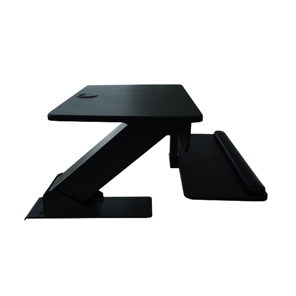 Desktops Contour Ergonomics Sit-Stand Workstation Black CE77691