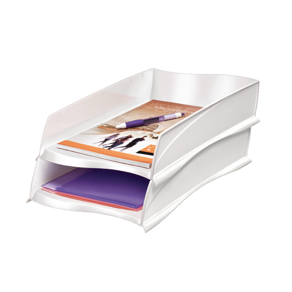 Letter Tray CEP Ellypse Xtra Strong Letter Tray White 1003000021