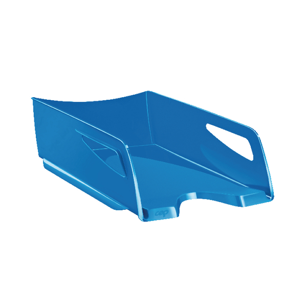 CEP Maxi Gloss Letter Tray Blue 1002200301