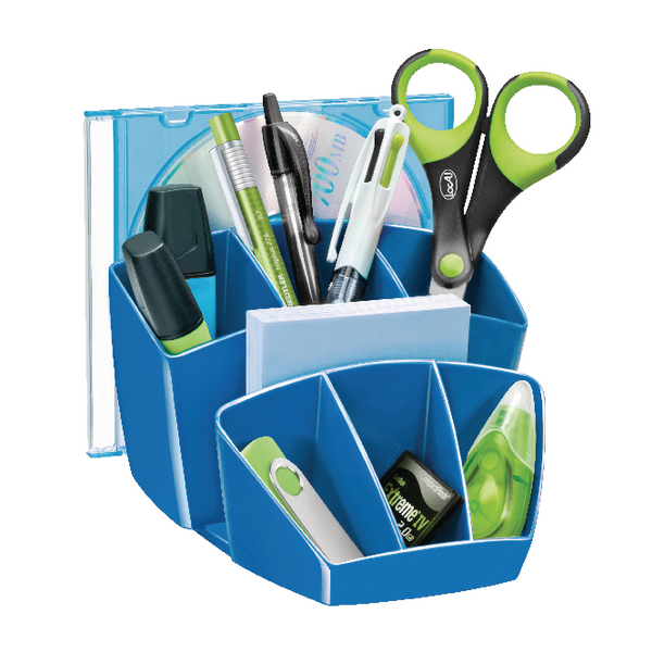 Organiser CEP Pro Gloss Desk Tidy Blue 580GBLUE