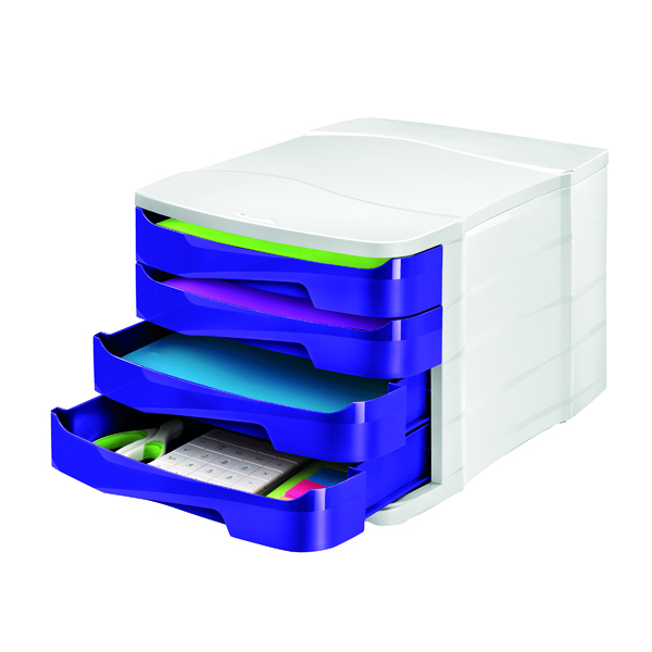 4 Drawer CEP Pro Gloss Purple 4 Drawer Set 394BIGPURPLE