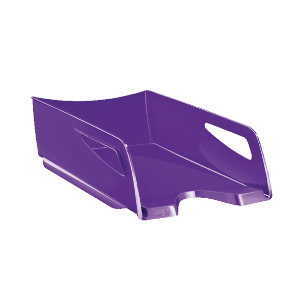 Letter Tray CEP Maxi Gloss Letter Tray Purple 1002200032