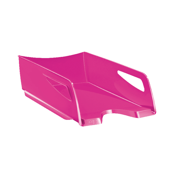 Letter Tray CEP Maxi Gloss Letter Tray Pink 1002200371