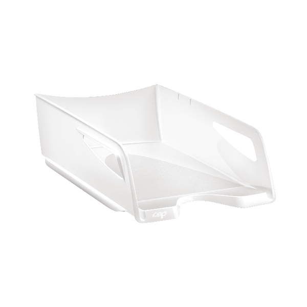 Letter Tray CEP Maxi Gloss Letter Tray Arctic White 1002200021