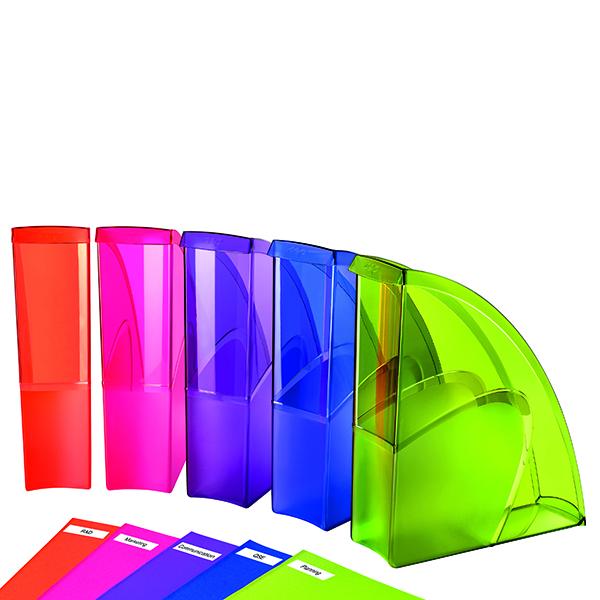 Magazine Files Happy by CEP Magazine File Multicoloured (5 Pack) 674+*5 Happy