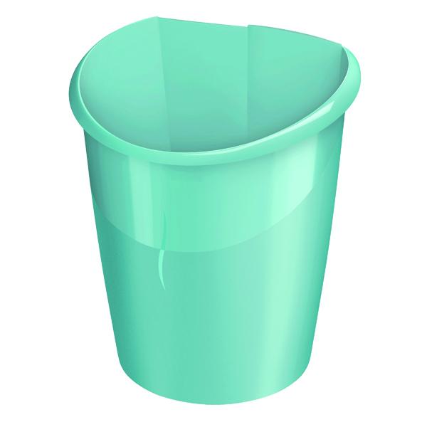 CEP Ellypse Xtra Strong Waste Bin 15 Litre Mint 320X Mint