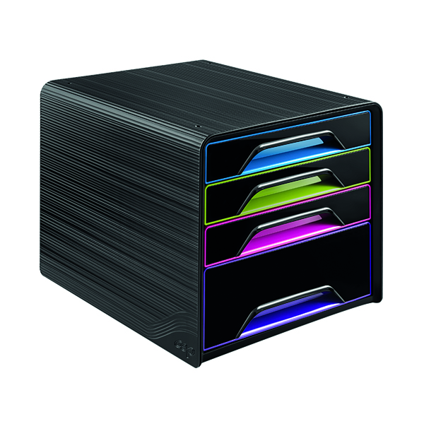 4 Drawer CEP Smoove 4 Drawer Module Black/Multicoloured 7-113 GM