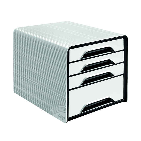 4 Drawer CEP Smoove 4 Drawer Module White 7-113 White