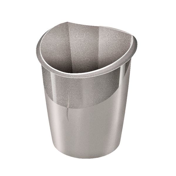Rubbish Bins CEP Ellypse Xtra Strong Waste Bin 15 Litre Taupe 1003200201