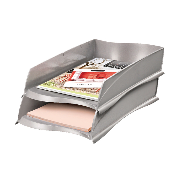 Letter Tray CEP Ellypse Xtra Strong Letter Tray Taupe 1003000201