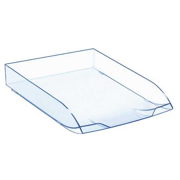 Letter Tray CEP Ice Blue Letter Tray 147/2I Blue