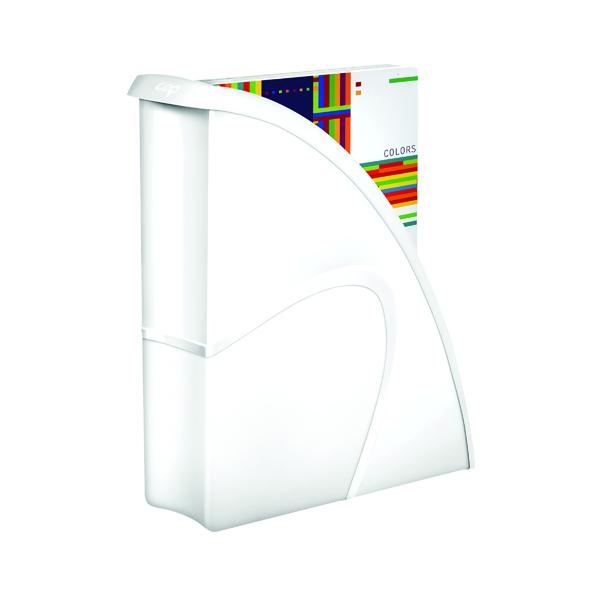 Magazine Files CEP Pro Gloss Magazine File White 674GWHITE