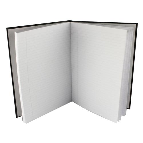 Collins Ideal Feint Ruled Margin Casebound Notebook A4 6429