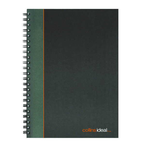 A4 Collins Ideal Feint Ruled Wirebound Notebook A4 6428W
