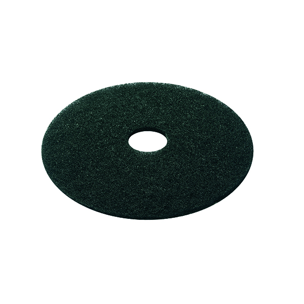 Mops & Buckets 3M Stripping Floor Pad 380mm Black (5 Pack) 2NDBK15