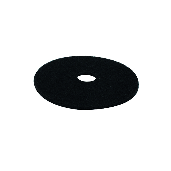Mops & Buckets 3M Stripping Floor Pad 430mm Black (5 Pack) 2NDBK17