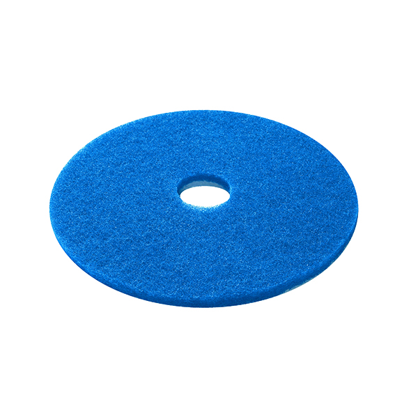 Mops & Buckets 3M Cleaning Floor Pad 380mm Blue (5 Pack) 2NDBU15