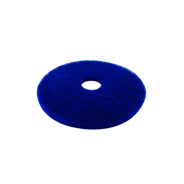 Mops & Buckets 3M Cleaning Floor Pad 430mm Blue (5 Pack) 2NDBU17