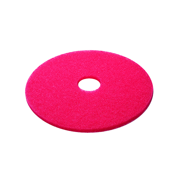 Mops & Buckets 3M Buffing Floor Pad 380mm Red (5 Pack) 2NDRD15