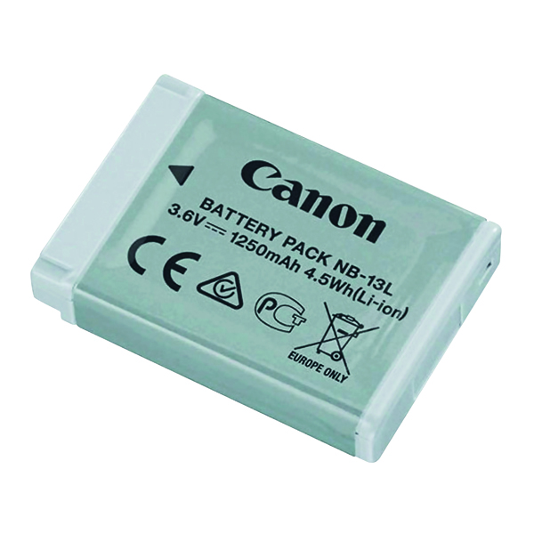 Cameras Canon NB-13L Battery Pack for Powershot 9839B001AA
