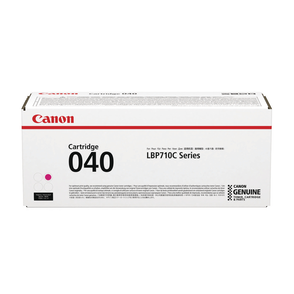 MultiColour Canon 040 Magenta Toner Cartridge 0456C001