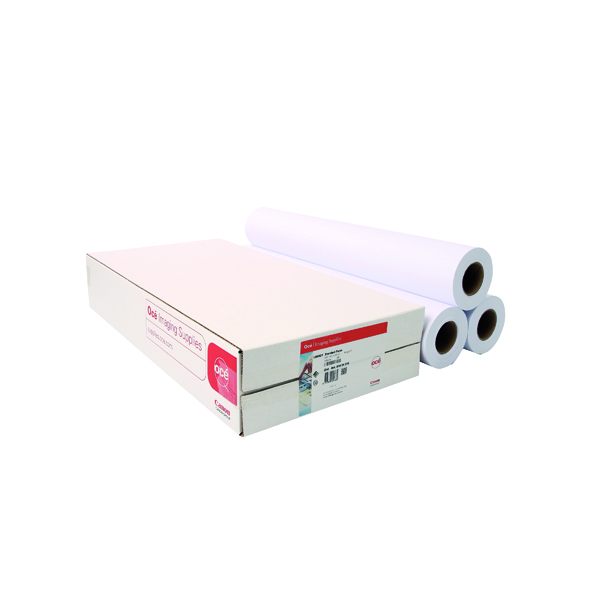Canon 914mmx50m Uncoated Standard Inkjet Paper (3 Pack) 97003448